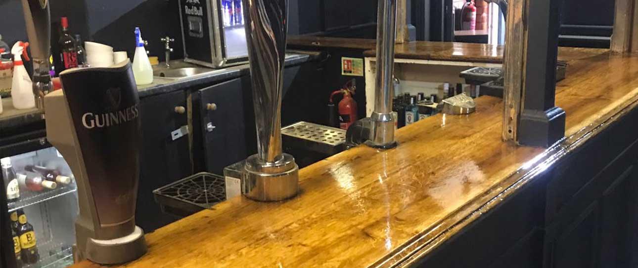 pub worktop sealing