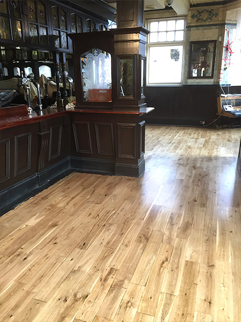 Commercial Wood Floor Fitting Sanding Sealing And French Polishers