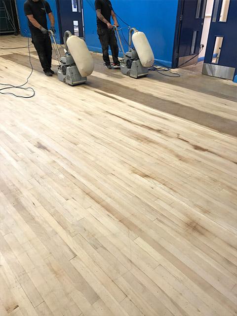 School Hall Flooring Gymnasium Wood Flooring Court Marking