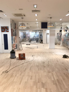 Retail Wood Floor Sanding