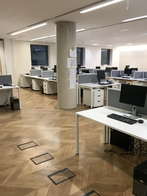 Office Wood Flooring