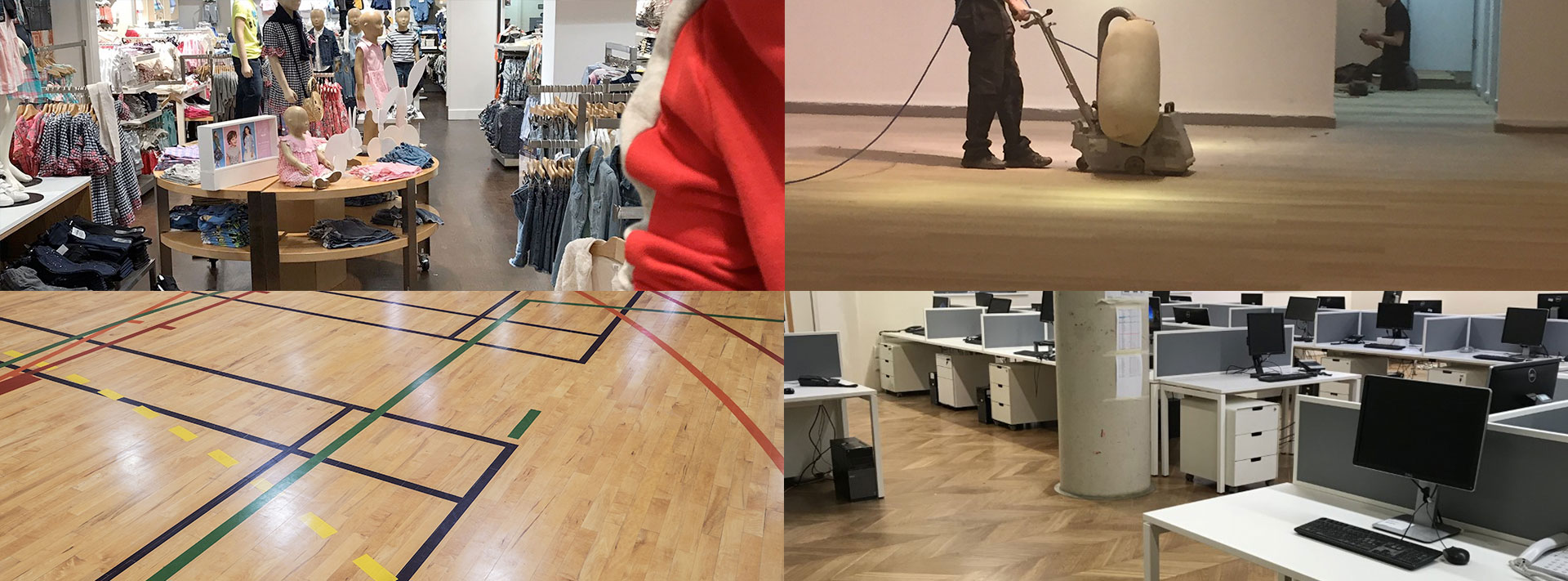 Wood Floor Sanding in London